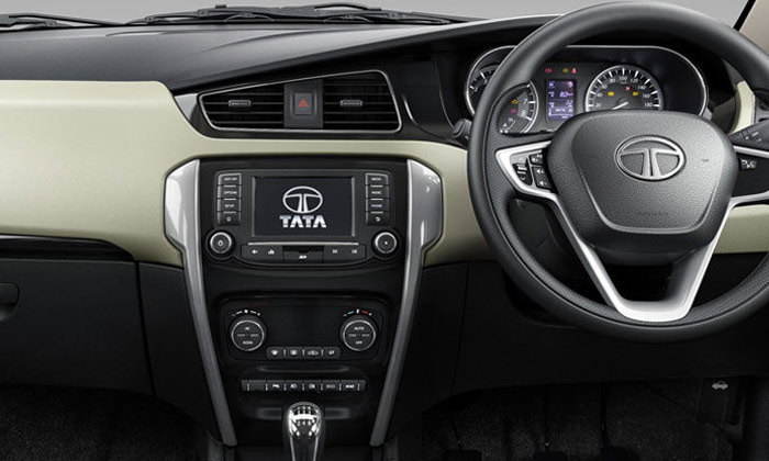 Tata Zest - Premium Layered and Dual-Tone Dashboard