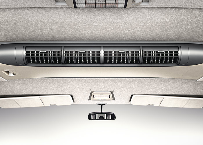 Tata Sumo Gold Roof Mounted Dual AC
