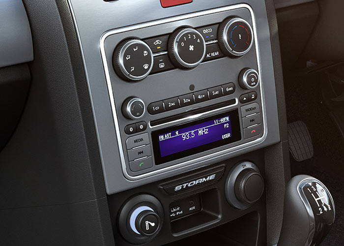 Tata Storme Infotainment System