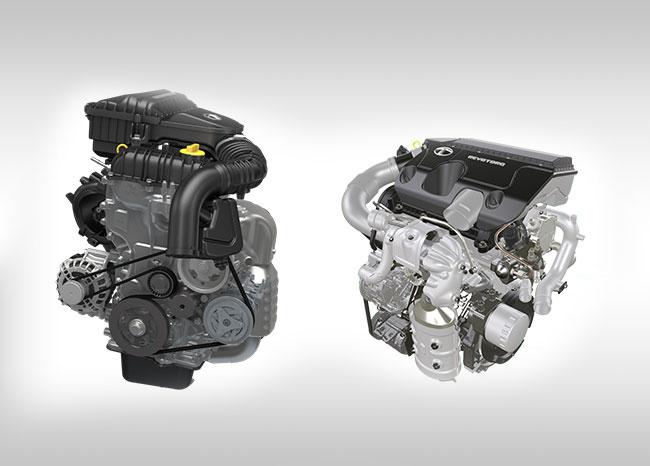 Tata Tiago - Revotron Petrol & Revotorq Diesel engines