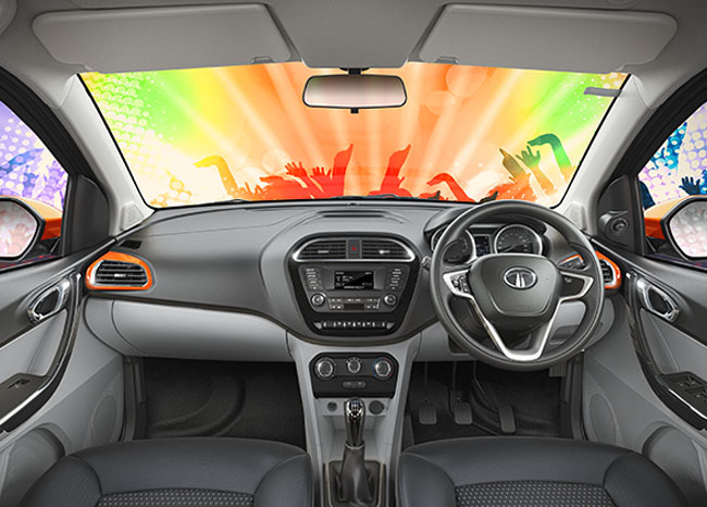 Tata Tiago - Infotainment System by HarmanTM with Juke-Car App