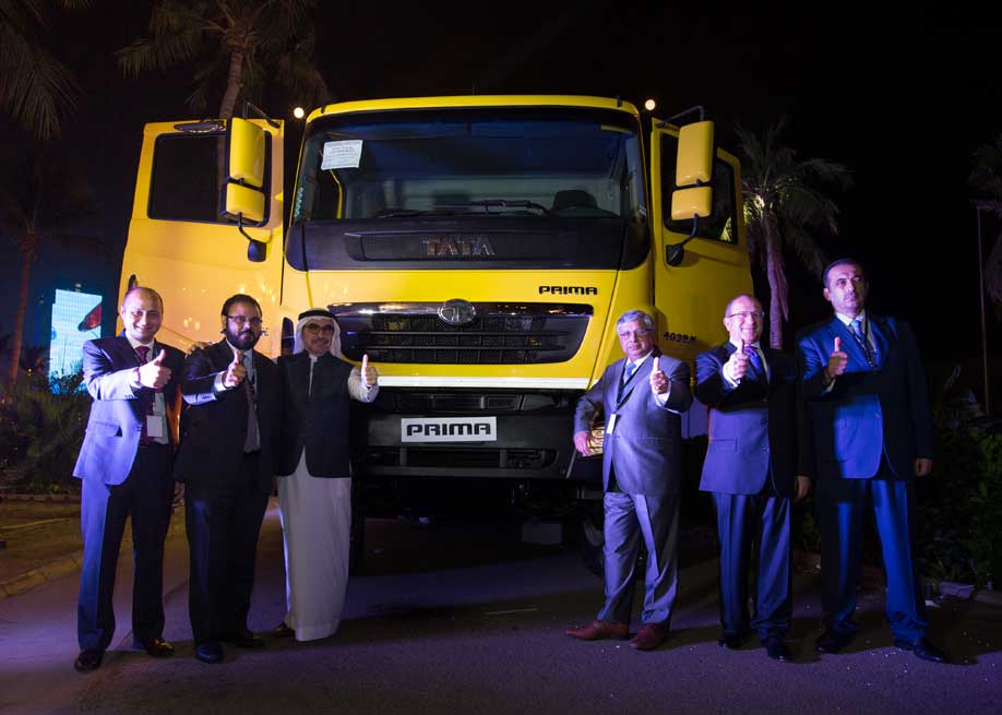 Tata Motors launches its WORLD SMART TRUCK – Tata PRIMA, in the