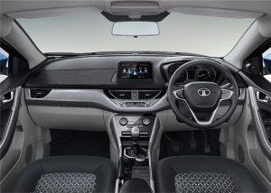 Tata Nexon Three Toned Dashboard