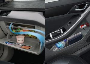 Tata Nexon - Cooled Glove Box