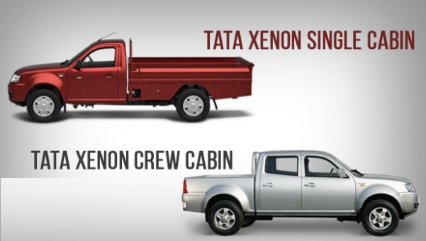 Tata Xenon Single Cabin and Double Cabin Pickup Truck