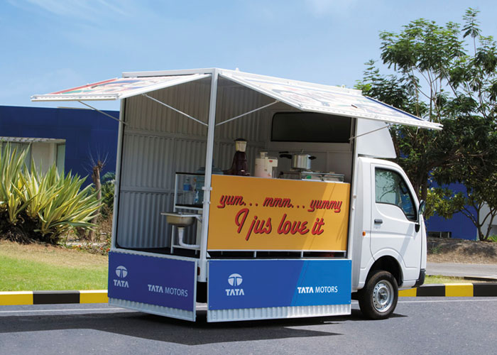 Food Truck – Convertible Tata Xenon Pickup Truck