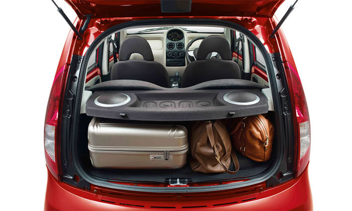 Tata Genx Nano Luggage Space