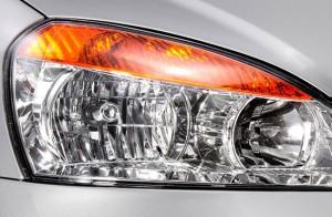 Stylish headlamps with amber blinkers