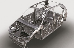 Reinforced steel in sub-frame for enhanced safety