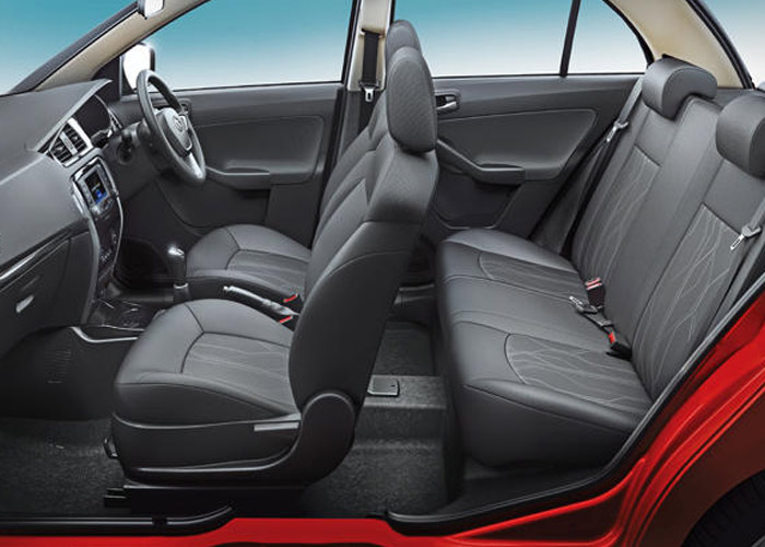 Tata Bolt Cabin Space