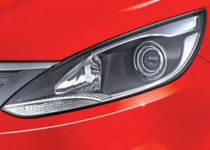 First-in-class* Smoked Projector Headlamps