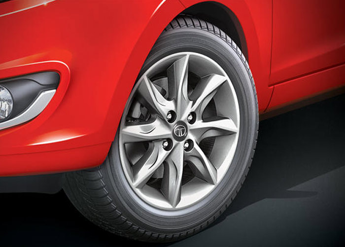 Tata Bolt Dynamic Alloy Wheels