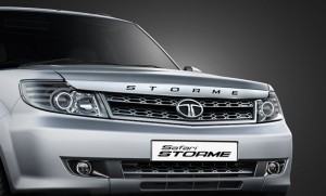 Chrome Stylized Garnish on Bonnet with Strome embossing