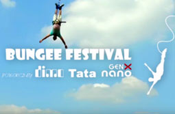 Bungee Festival powered by DIMO Tata GenX Nano