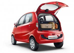 Tata GenX Nano Backseat
