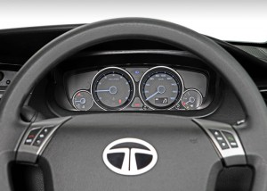 Tata Manza Steering Wheel