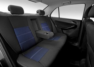 Tata Manza Rear Seats
