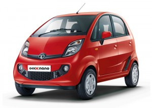 Tata GenX Nano - Red