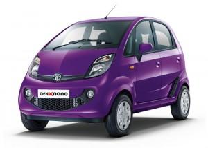 Tata GenX Nano - Damson Purple