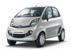 Tata GenX Nano - Meteor Silver