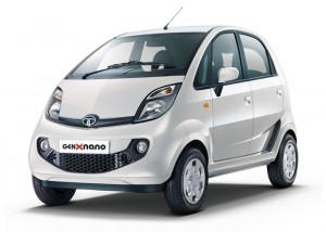 Tata GenX Nano - Pearl White