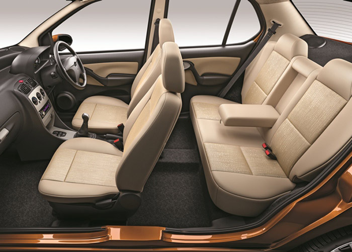 Tata Indigo eCS Dual Toned Interiors