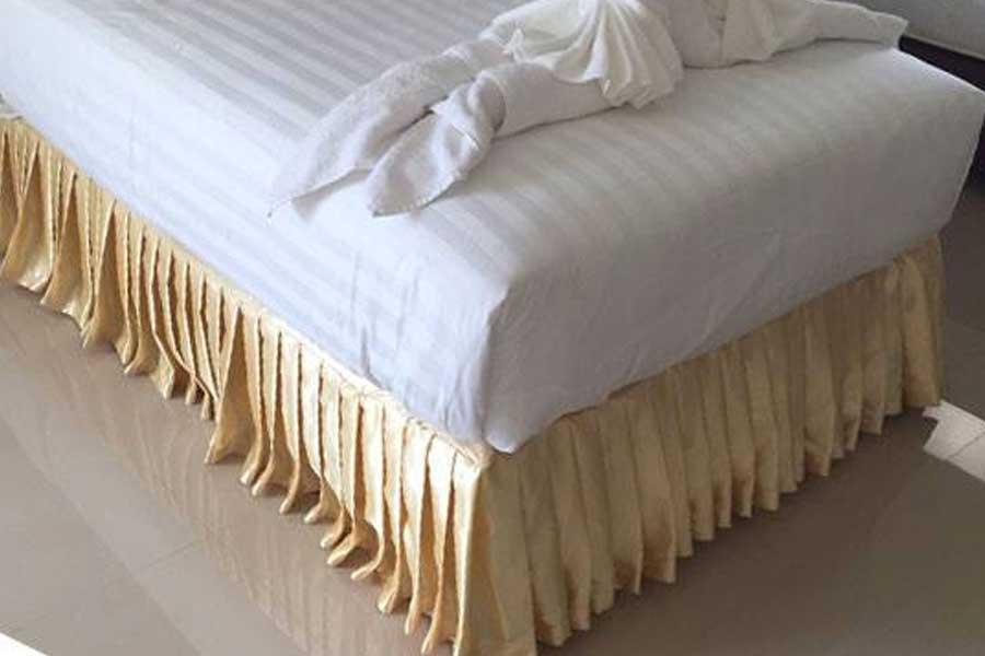 ผ้าคลุมฐานเตียง