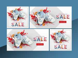 Shoes Fashion Social Media Templates