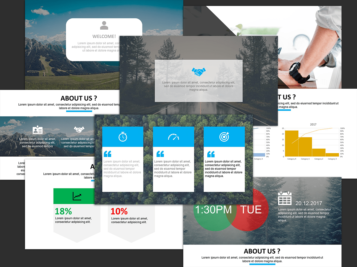 Company Profile Presentation, templates, powerpoint, corporate, company, business, office