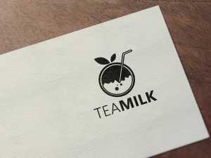 Tea milk Logo Design, tea,milk, coffee, muffin, drink, black, logo, design