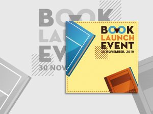 Book Launch Event – Social Media template