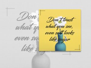Quote Design Social Media Template