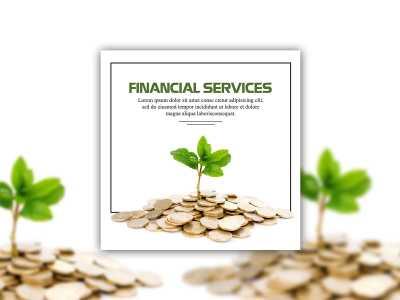 finance, money, social media, template, design, banner ad