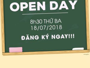 School Open Day – Poster