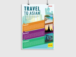 Travel to Asian – Flyer Template