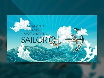 Sea Social Media Templates