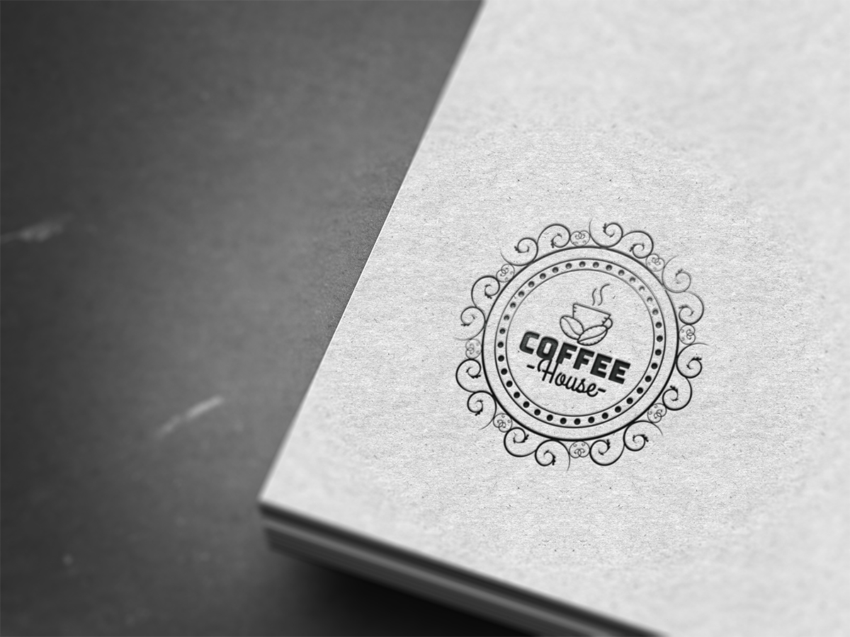 coffee logo, house, store, ideas, inspiration, templates