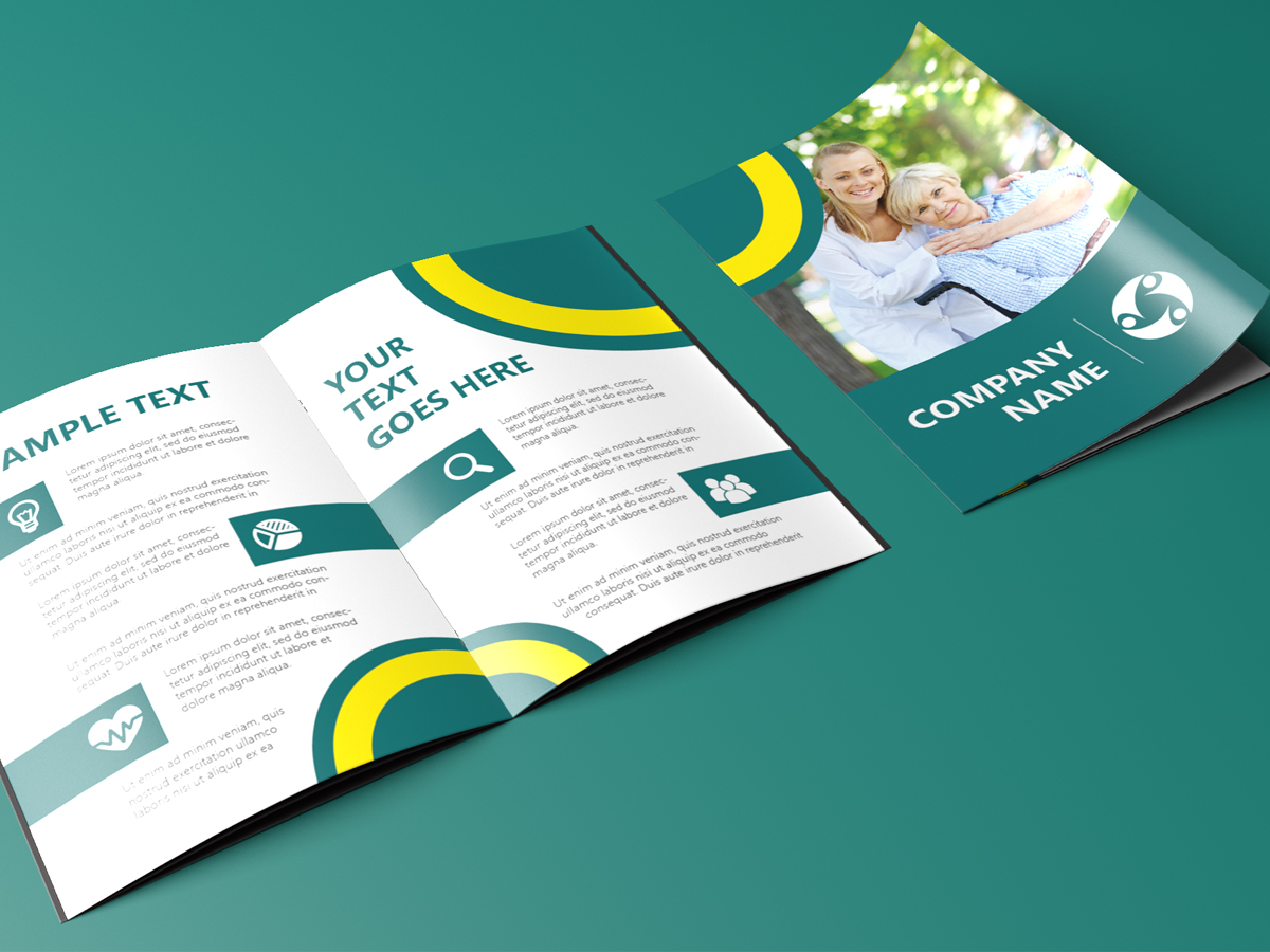 life insurance company brochure template xcreative