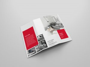 Furniture Company Brochure Templates