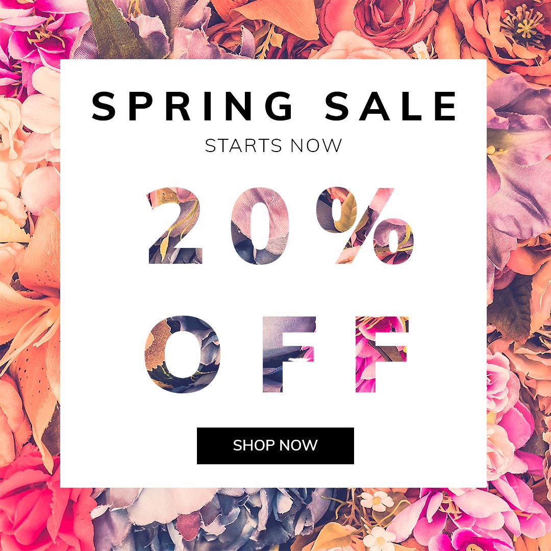 fashion, Spring Sale - Social Media Templatem banner,facebook,sale,spring sale, show fashion