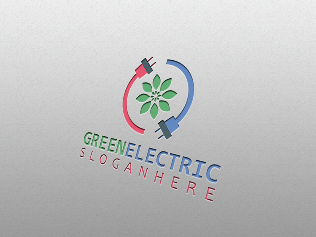 Green-Electric-Logo-Template
