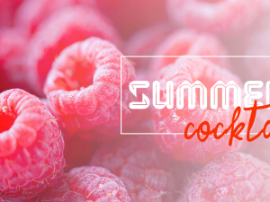 Summer Cocktail Design Template