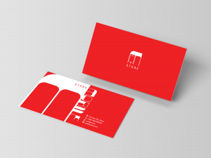 Mobile Store Business Card – Design Template
