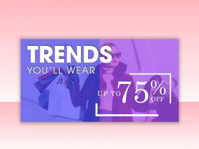trends, sale, fashion, social, media, design