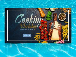 Cooking Workshop Social Media Templates