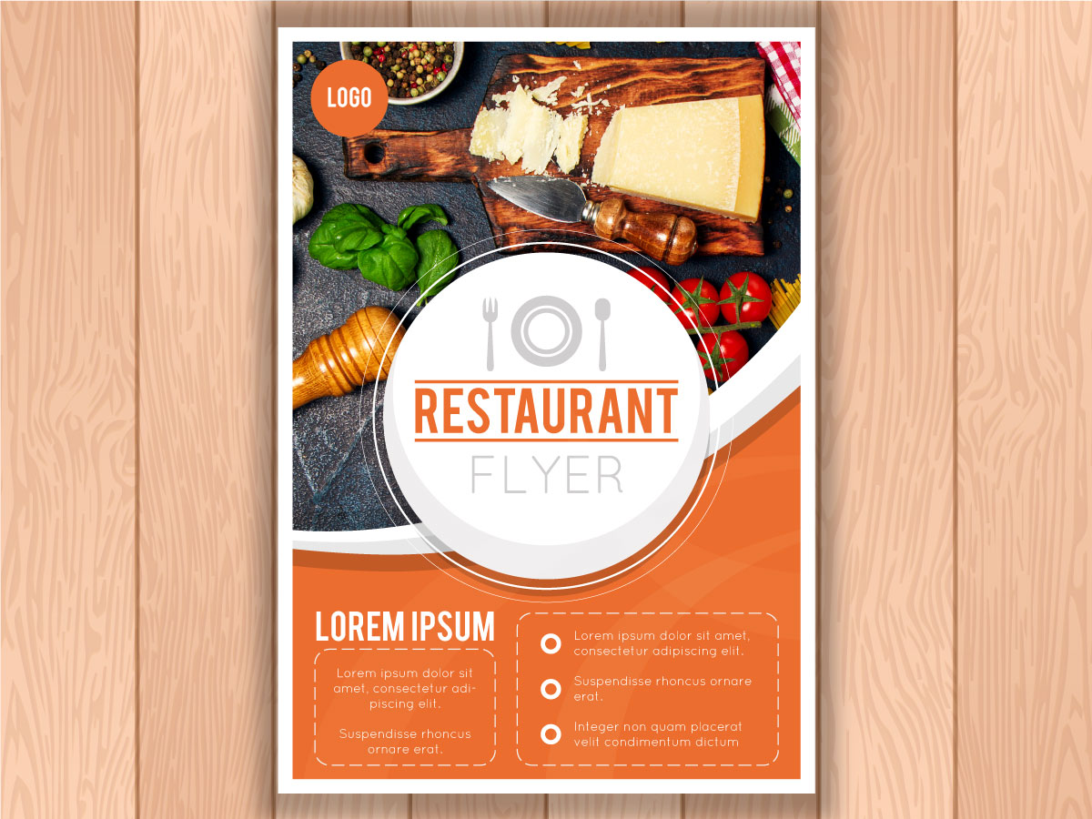 restaurant flyer template 01012 xcreative
