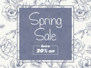 Spring Sale Off  Social Media Template