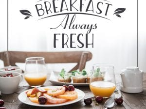 Breakfast Social Media Template