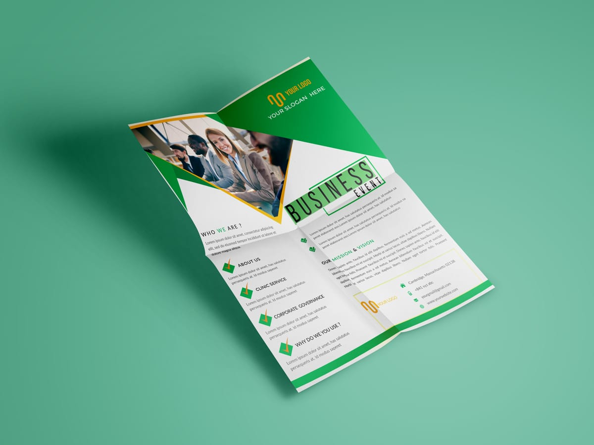 Business event - Flyer template - XCreative