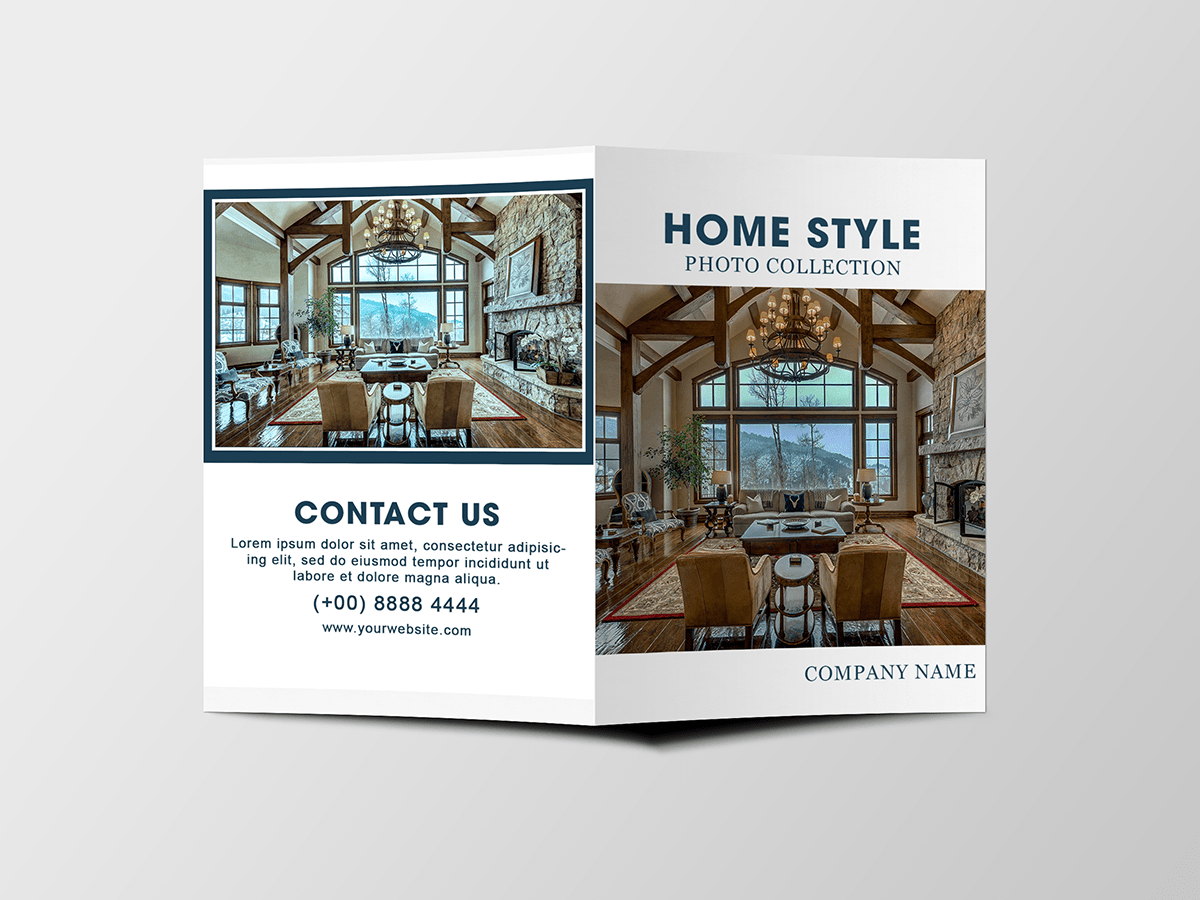 Home style, brochure, Home Decoration